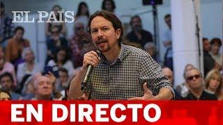 DIRECTO: PABLO IGLESIAS en la presentación del programa electoral