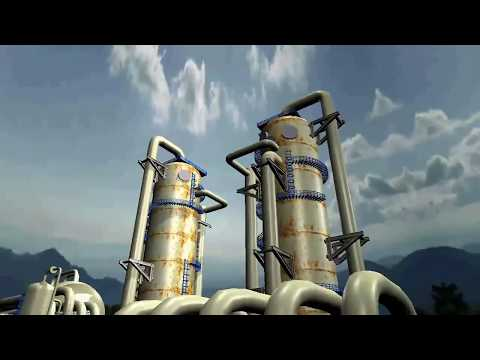 The 3D Oil refinery or petroleum refinery is an industrial process plant
