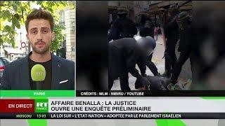 Affaire Benalla : le parquet de Paris ouvre une enquête préliminaire