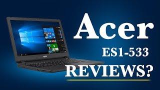 ACER ES1533 LAPTOP REVIEW CHEAPEST LAPTOP FOR YOUTUBE Acer Aspire ES15 ES1-533 15 6-inch Laptop