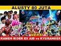 Download lagu Alusty 80 Juta || Versi  Kamen Rider Ex Aid Vs Kyuranger, Siapakah Yang Akan Menang ? 😍
