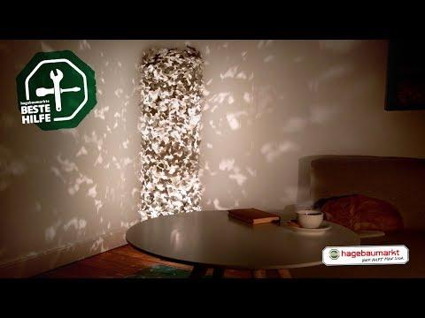 Lampe mit Lichteffekten
