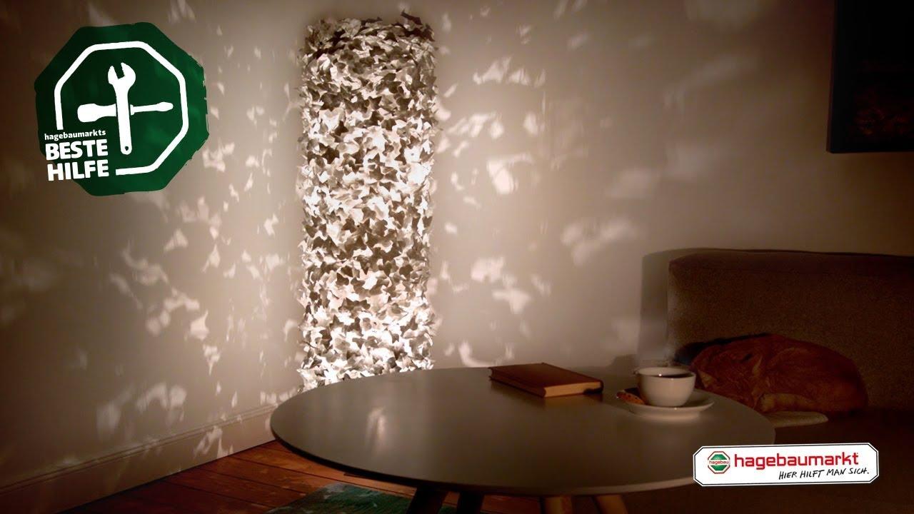 Lampe Mit Lichteffekten Selber Bauen Diy Anleitung Efeu