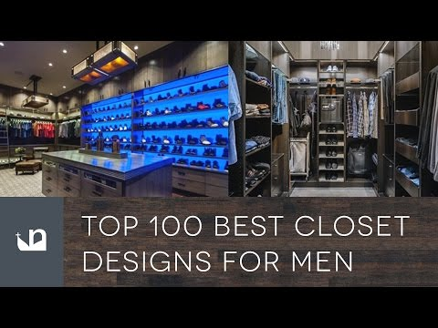 Top 100 Best Closet Designs For Men - Walk In Wardrobes