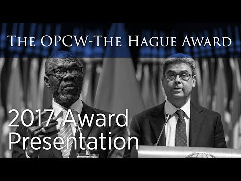 OPCW-The Hague Award 2017 Ceremony