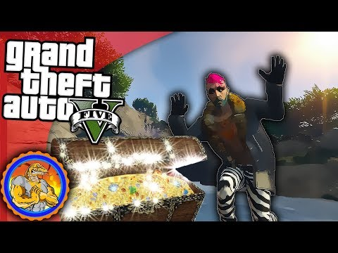 Searching for some BOOTY | GTA 5 Treasure Hunt | GTA V ONLINE PC Multiplayer