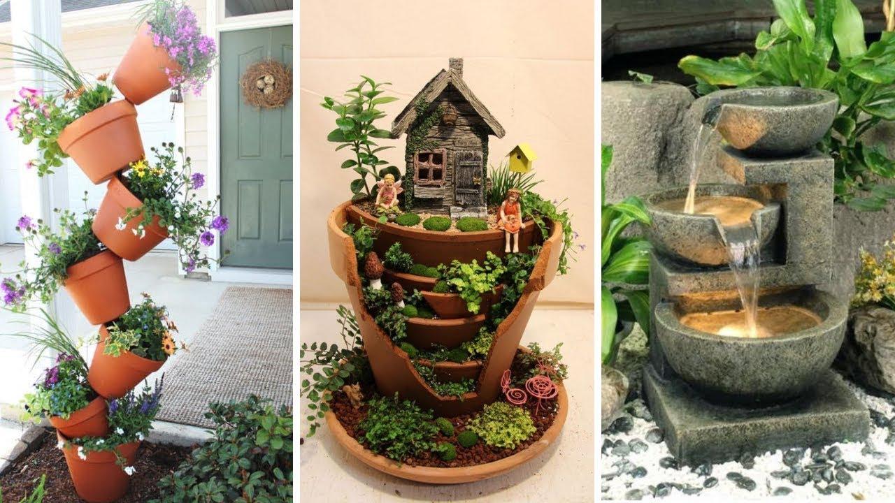 10 Creative and Unique Small Garden Decor Ideas - YouTube