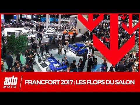 Salon de Francfort 2017 [VIDEO] : les flops de l'IAA selon Auto Moto