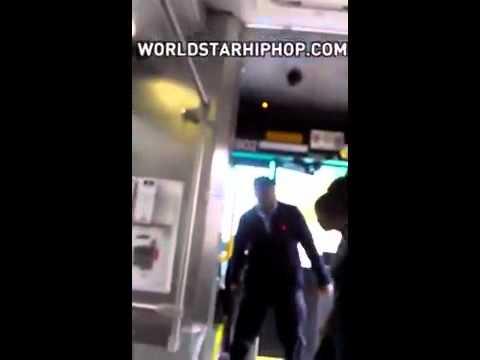 Bus driver uppercuts lady