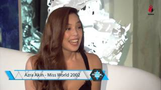 Interview to Azra Akin - Arab Fashion Week