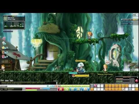 MapleStoryHD: Ellin Forest Full Quest