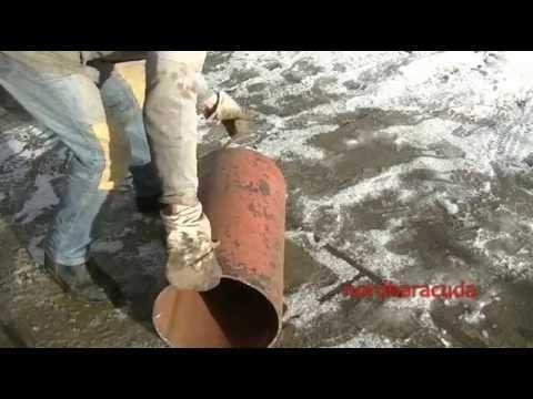 Как сделать печь длительного горения на дровах из трубы. Обогрев мастерской