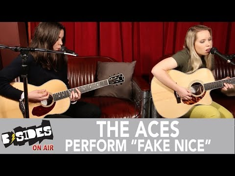 """B-Sides On-Air: The Aces Perform """"Fake Nice"""" Acoustic"""