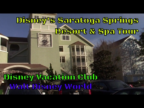 Disney's Saratoga Springs Resort Tour at Walt Disney World