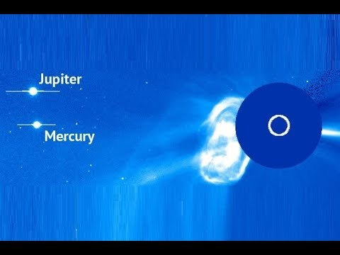 Powerful Double Solar Eruption (CME) - Electric Comet C2017/K2 Prediction - Earth Facing This Week