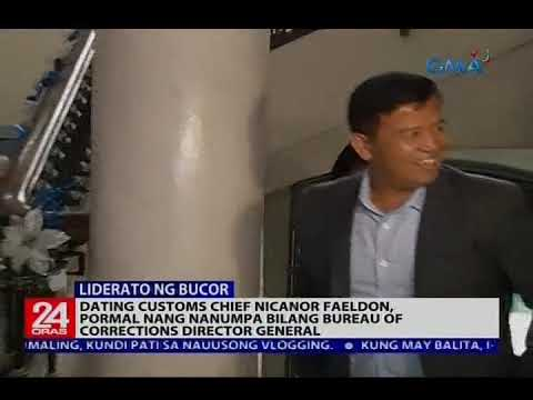 Nicanor Faeldon, pormal nang nanumpa bilang Bureau of Corrections Director General