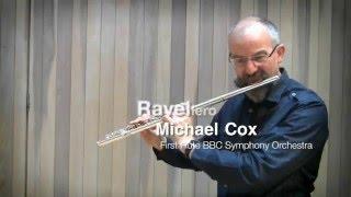 Равель, Болеро, видео урок первой флейты BBC Symphony Майкла Кокса