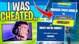The Glitch In Fortnite That Cost Us The Tournament.. WE WERE CHEATED!