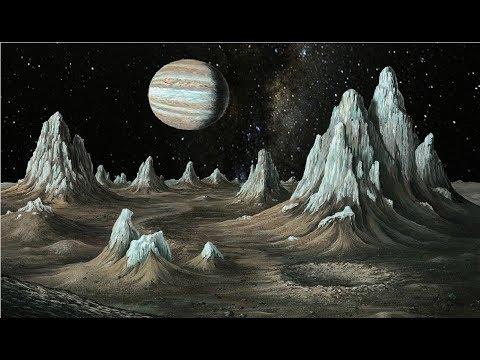 Standing on Jupiter's Moon Callisto