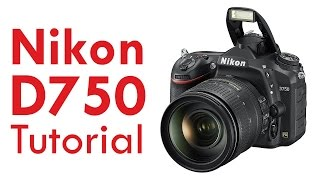 Nikon D750 Tutorial Overview