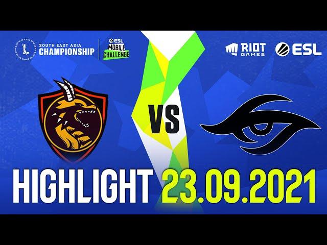 SVP vs TS l Highlight SEA Championship (23.09.2021)