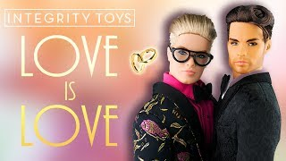 🏳️🌈LOVE IS LOVE 👬 Doll Review [ INTEGRITY TOYS ]