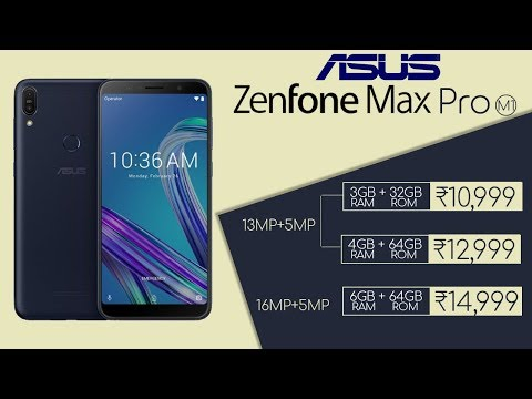 🔴 Asus Zenfone Max Pro M1 Live Launch by Asus India with 5000 mAh Battery | #UnbeatablePerformer