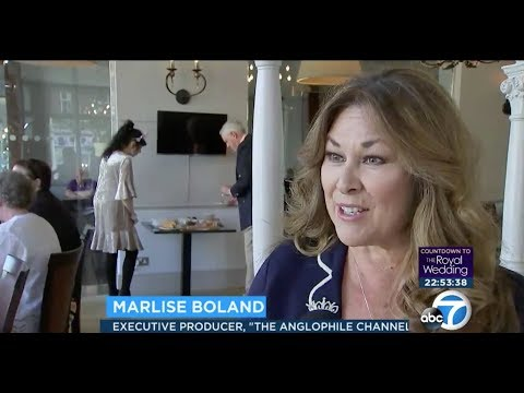 Royal Wedding: Marlise Boland and the Anglophile Channel LIVE from Windsor on KABC 7