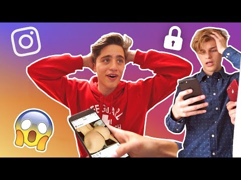 Thumbnail: YOUR INSTAGRAM IS HACKED PRANK (FREAKOUTS)