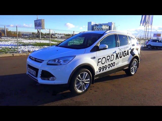 2015 Ford Kuga Titanium. Обзор (интерьер, экстерьер, двигатель).