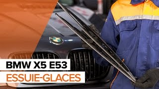 Comment changer Essuie-Glaces BMW X5 (E53) - video gratuit en ligne
