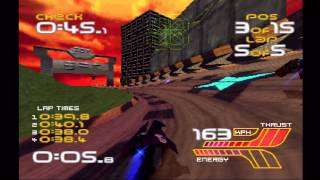 WipEout XL (WipEout 2097) - Full Phantom Tournament