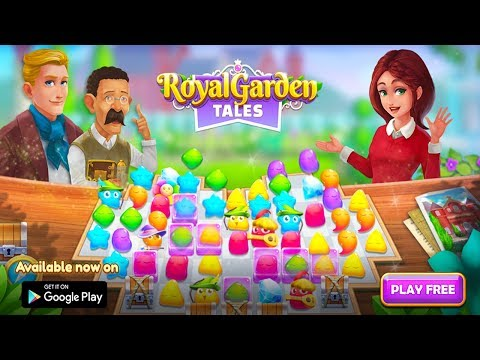 Royal Garden Tales Match 3 Games Free Story Android Gameplay ᴴᴰ