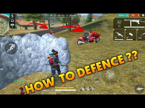 Free Fire | How to Defence From Vehicles !!! | Pro Tips For All Free Fire Players !!!