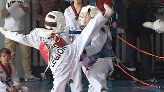 Открытый турнир по таеквондо ВТФ прошел в Уссурийске