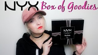 NYX Box Of Goodies Advent Calendar Unboxing | Lip Lingerie & Limited Edition Eyeshadows