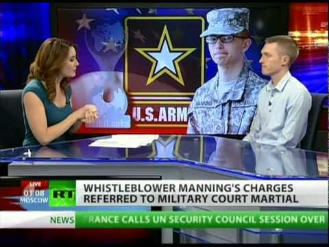 Court-martial and life in prison for Bradley Manning?
