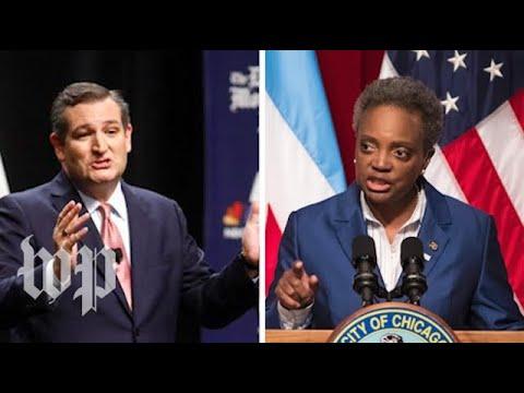 Chicago mayor Lori Lightfoot slams Ted Cruz over gun control