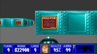 Wolfenstein 3D - Episode 3, Floor 9