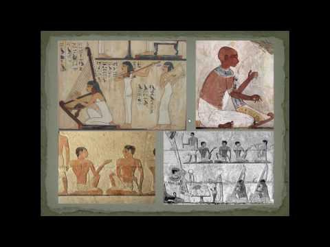 Los Egipcios y la música
