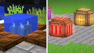 25 Minecraft 1.13 Decorating Tips YOU NEED!