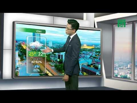 VTC14 | Thời tiết các thành phố lớn 25/04/2018 | Đa phần các tỉnh/thành đều có mưa