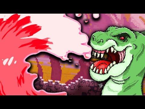 LAWA TSUNAMI vs T-REX - The Sandbox Evolution