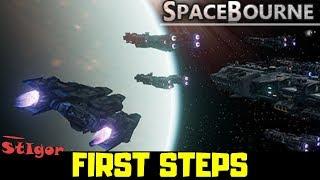 SPACEBOURNE - FIRST STEPS - GAMEPLAY