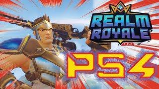 Realm Royal arrive à la PS4 KARMA HITS FORTNITE BADLY