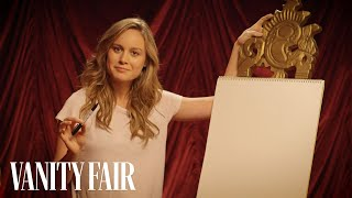 Brie Larson on Her Secret Love of Typography | Secret Talent Theatre | Vanity Fair