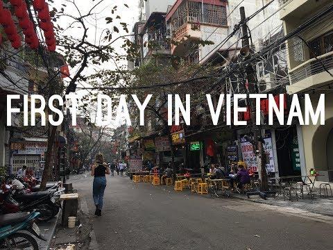 FIRST DAY IN VIETNAM