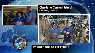 Expedition 55 Education Inflight Interview - Champlain Valley School District - May 2, 2018