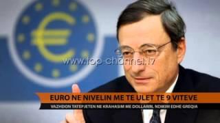 Euro, në minimumin historik kundrejt dollarit - Top Channel Albania - News - Lajme