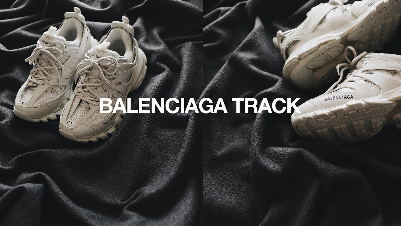 Styling Unboxing Balenciaga Track Runner Youtube
